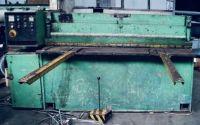 Mekanisk giljotin skjuvning STROJARNE PIESOK NTC 2000 / 25