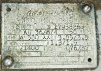 Moedor cilíndrico Herkules Siegen 950 1960-Foto 4