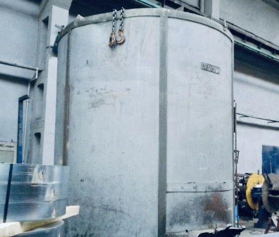 Forno de têmpera Degussa Electric 280 kW 1975