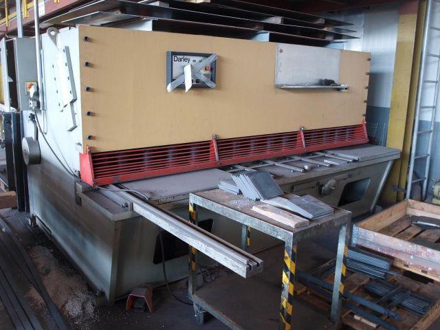Cizalla guillotina hidráulica DARLEY GS 3000 x 16 1984