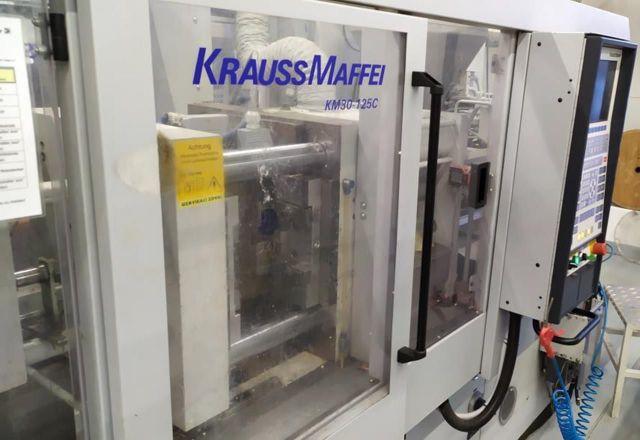 Plastics Injection Molding Machine KRAUSS MAFFEI 30-125 C 2001
