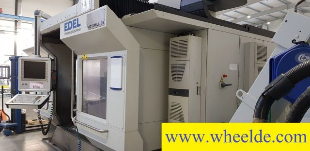 Wire elektrische ontlading machine 6 Axis Machining Center EDEL ROTAMILL RM22 a a 6 Axis Machining Center EDEL ROTAMILL RM22 a a 2010