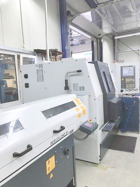 Single Spindle Automatic Lathe SPINNER TC 600-65 SMCY 2011
