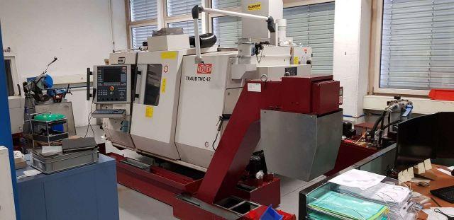 CNC-Drehmaschine TRAUB TNC 42/65 2001