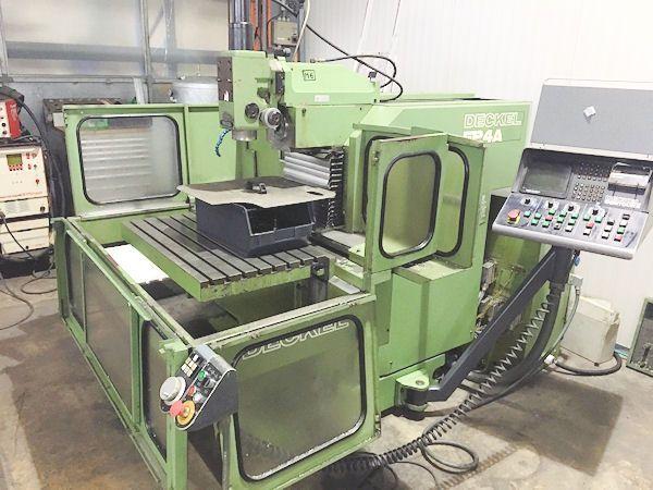 CNC Fräsmaschine DECKEL FP 4 A 1988