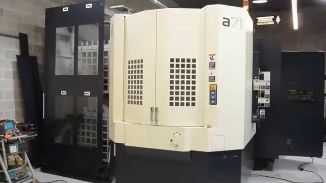 CNC Milling Machine MAKINO A71 2008