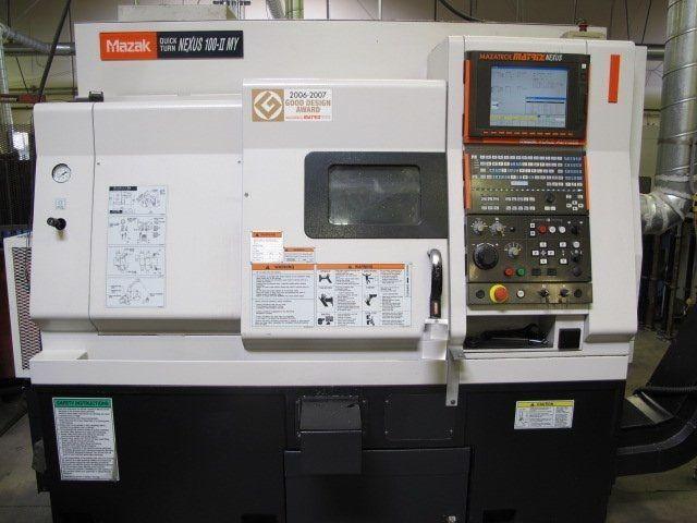 CNC Milling Machine MAZAK QT-NEXUS-100MY 2008