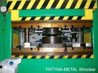 H Frame Hydraulic Press INTER-HYDRO D906 1990-Photo 3