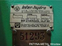 H Frame Hydraulic Press INTER-HYDRO D906 1990-Photo 5