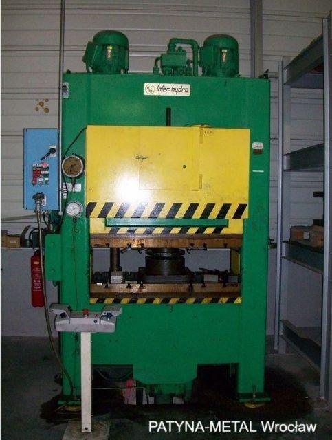 H Frame Hydraulic Press INTER-HYDRO D906 1990