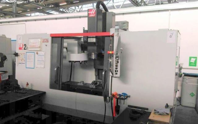 CNC Vertical Machining Center HAAS TM 2P 2015
