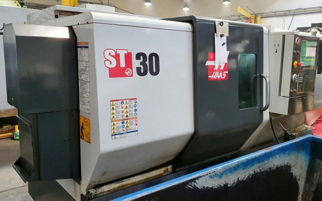 CNC dreiebenk HAAS ST 30 2015