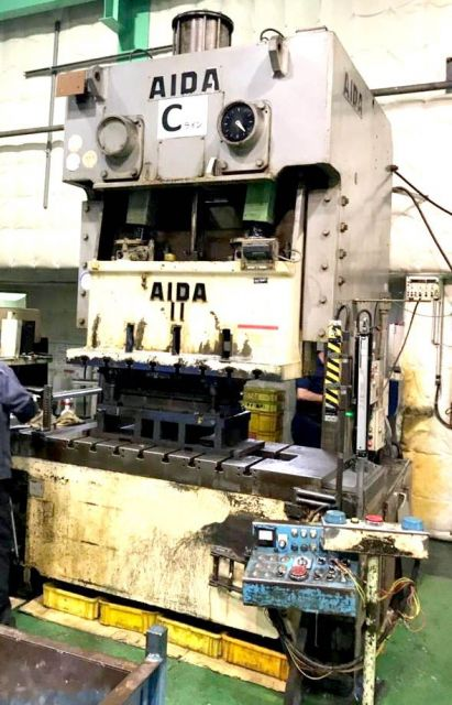 Eccentric Press 0933 AIDA JAPAN C2-11(2) 2001