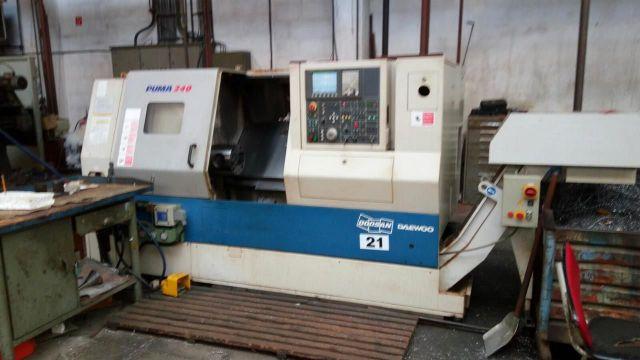 CNC数控车床 DOOSAN PUMA 240 B 2006