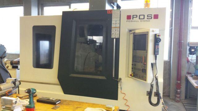 CNC φρέζα POS POSmill C 1050 2012