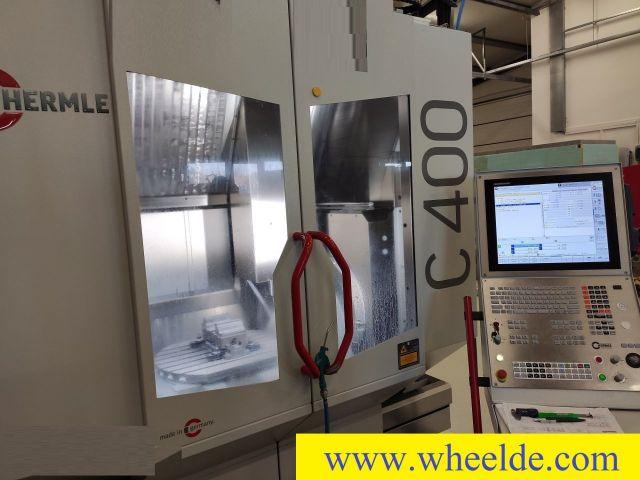 Seam Welding Machine Hermle C400U 5 axis Heindenhain TNC 640 - Copy Hermle C400U 5 axis Heindenhain TNC 640 - Copy 2018