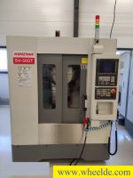 Plastics Injection Molding Machine  Shinzawa SV-50S   3 axis - Copy