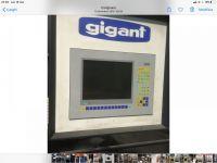 Pressa idraulica a due montanti GIGANT G2 630/2
