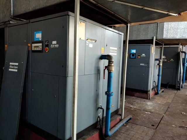 Screw Compressor ATLAS COPCO GA160 2000