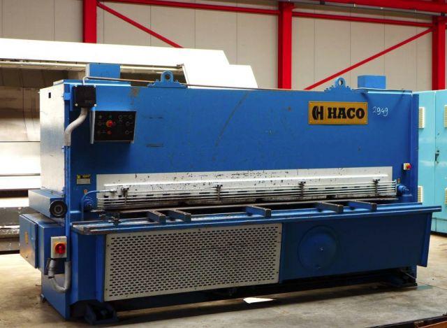 NC hydraulische guillotineschaar HACO HSL 3012 1990