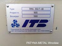 Prostowarka ITB Benelux BV RMA 250/7-60 1999-Zdjęcie 8