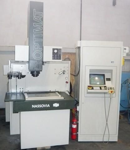 Senkerodiermaschine SCHIESS NASSOVIA OPTIMAT 505 CNC 1989