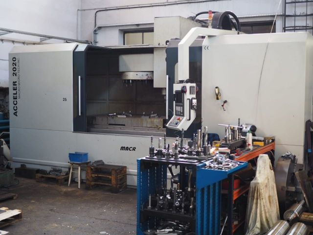 CNC Milling Machine Macr Acceler 2020 2014