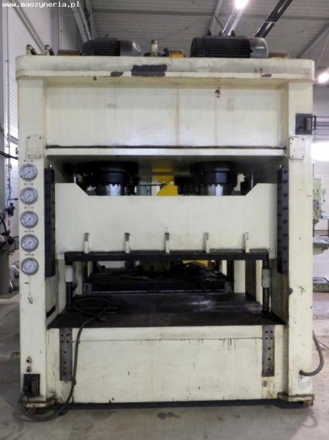 H kader hydraulische pers FINE AL TECH DHAP6-6BH 2006