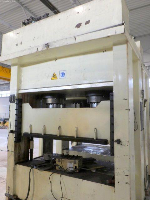 Prasa hydrauliczna bramowa FINE AL TECH DHAC6-2BH 2006