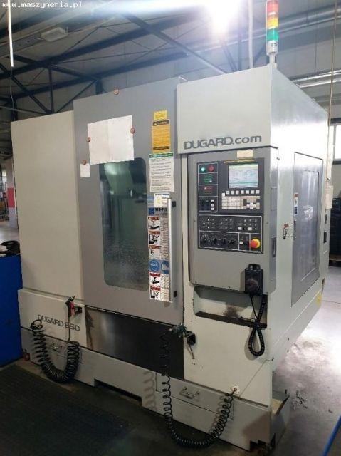 CNC de prelucrare vertical DUGARD EAGLE 850 2012