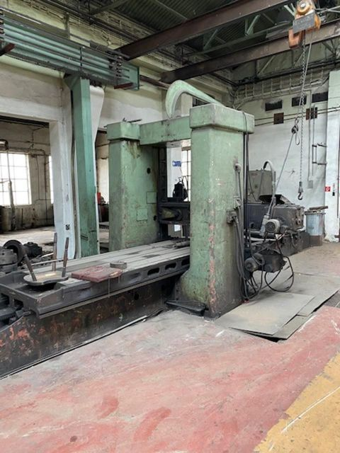 Portal Planing Machine MAS HD 12,5-3 1977