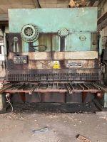 Cizalla guillotina hidráulica PIESOK NTH 3150/25C