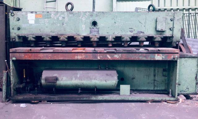 Nożyce gilotynowe hydrauliczne ZAMECH NG-8 1970