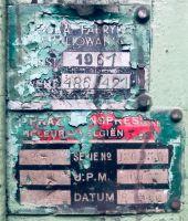 Prensa excêntrica RASKIN 7D 120 T 1960-Foto 6