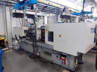 Plastics Injection Molding Machine TOYO SI-130-6 Z ROBOTEM SWITEK 2016-Photo 3