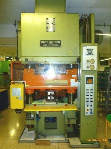 H Frame Hydraulic Press SCHOEN NH-PZ 300 1991