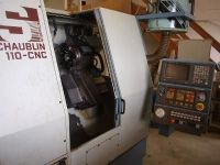 Torneamento e fresamento centro SCHAUBLIN CNC 110