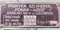 Frezarka pionowa PONAR FYA 41 1967-Zdjęcie 5