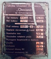 Wiertarka kadłubowa CHOFUM WKA 25 1961-Zdjęcie 5