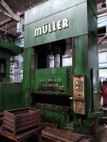 H Frame Hydraulic Press FRITZ MULLER ZE600