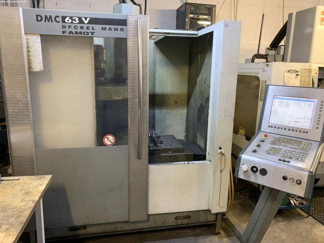 CNC függőleges megmunkáló központ DMC DECKEL MAHO 63 V 2004