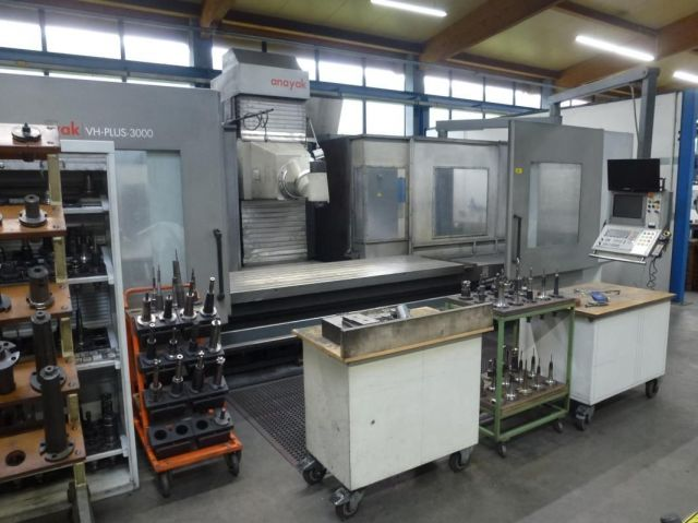 CNC freesmachine ANAYAK VH PLUS 3000 2007