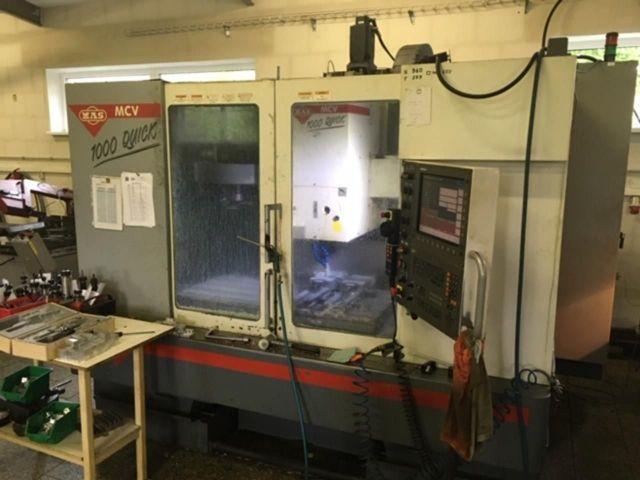 Centro de mecanizado vertical CNC MAS MCV 1000 Quick 2004