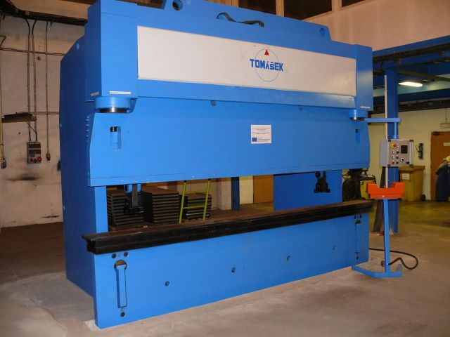 CNC Hydraulic Press Brake Tomášek HOL 250/4000 2015