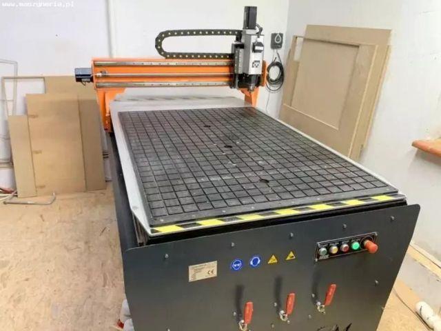 CNC portalfräsmaskin MLM Maschinenbau Luib Martin CNC PLST 1500 x 1000 x 100 2019