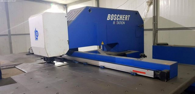 Vysekávací lis BOSCHERT EL 1250 ROTA 2001