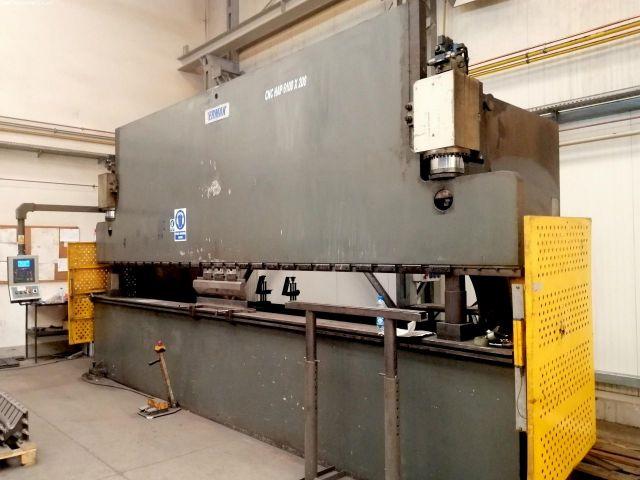 Prensa plegadora hidráulica CNC ERMAKSAN CNC HAP 6100 x 200 2004