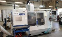 CNC Vertical Machining Center HAAS MIKRON VCE 1250 2000-Photo 2