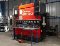 Prensa plegadora hidráulica CNC AMADA HFT 50-20 2007-Foto 2