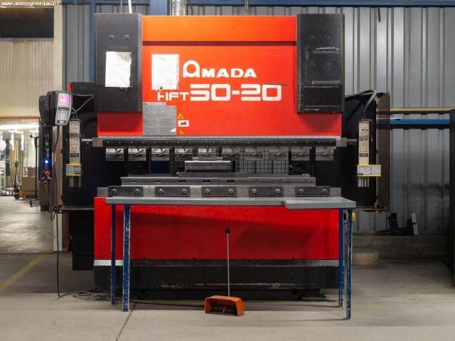 Prensa plegadora hidráulica CNC AMADA HFT 50-20 2007